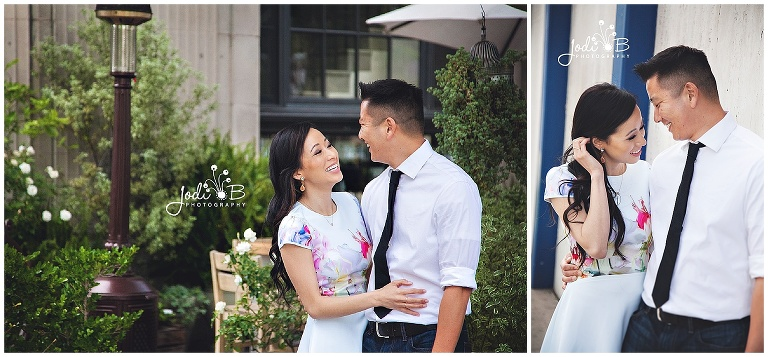 Los Angeles Engagement Session, Culver Hotel, Jodi B Photography